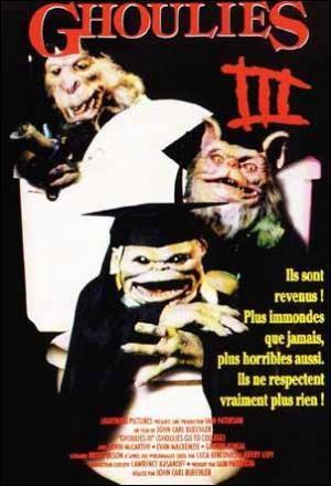 Ghoulies III: Los Ghoulies van a la universidad