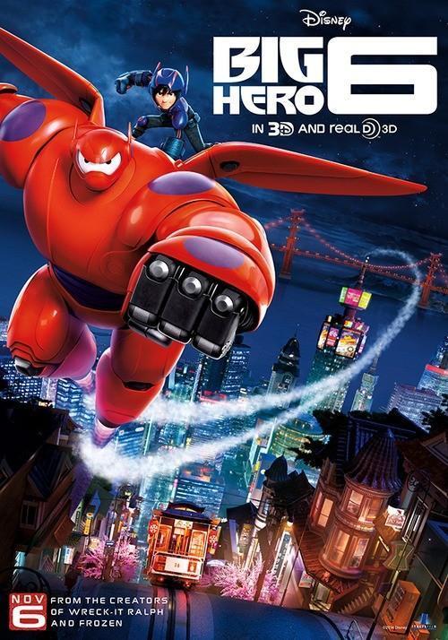 Grandes Héroes (2014) BRRip 1080p Latino – Ingles