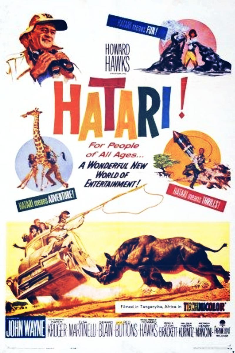 Hatari (1962) - Filmaffinity