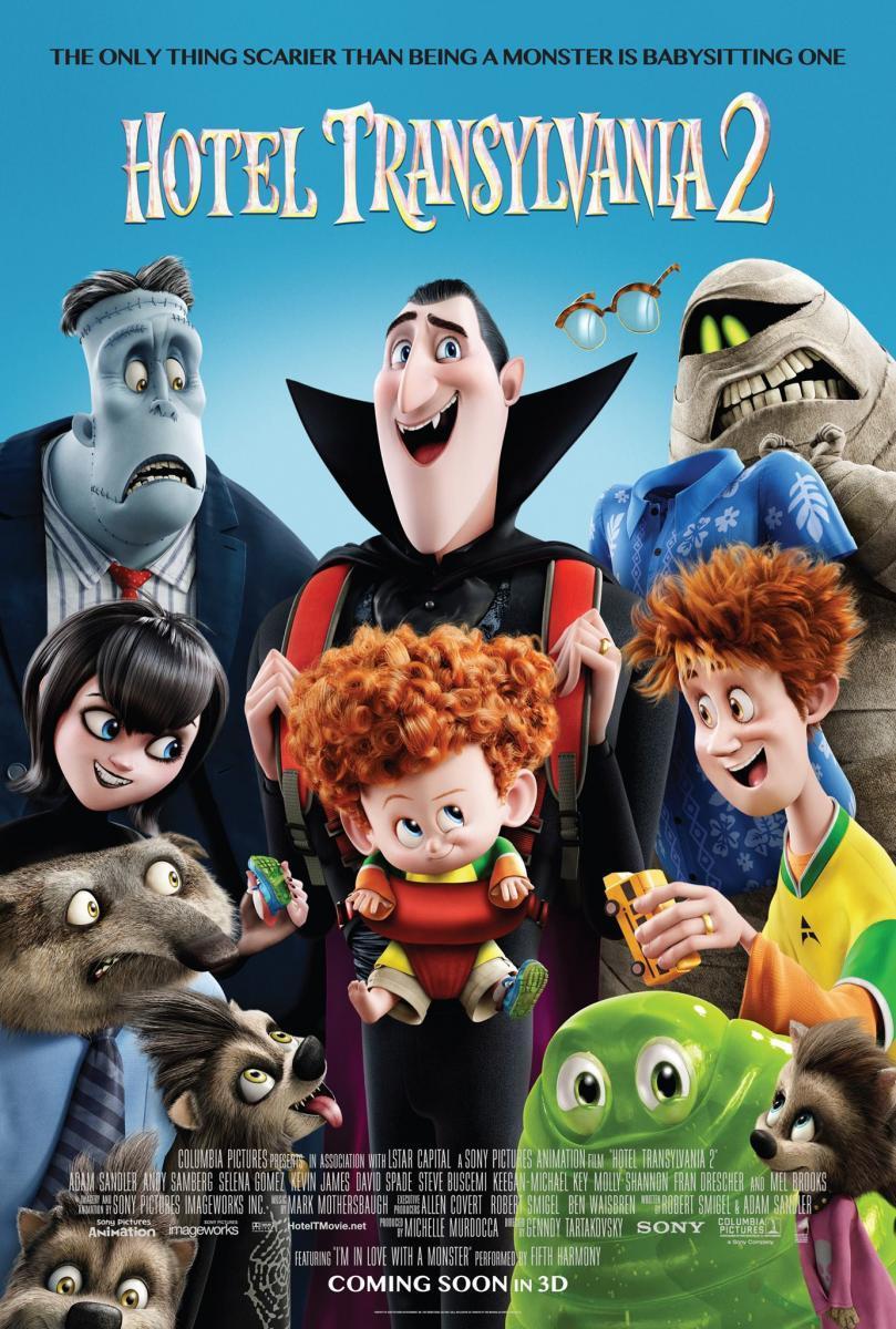 Hotel Transylvania 2, película, animación, dibujos, monstruos, fantástica, secuela, blog de cine, solo yo, blog solo yo,