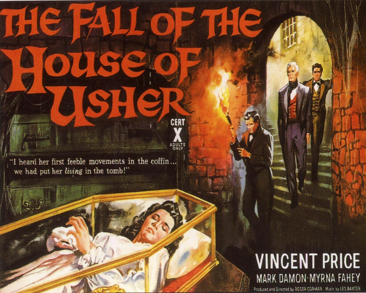 the fall of the house of usher comparing book and movie