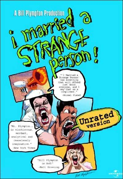 I Married A Strange Person 1997 Filmaffinity