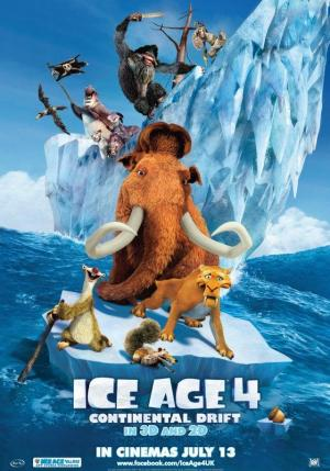 Ice Age 4: La formación de los continentes