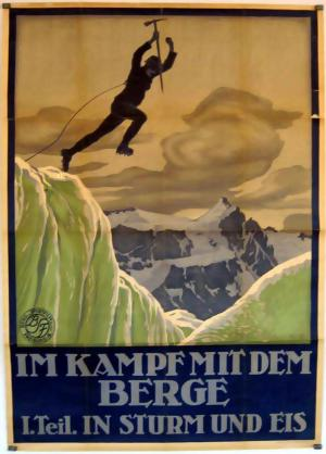 Im Kampf mit dem Berge - 1. Teil: In Sturm und Eis - Eine Alpensymphonie in Bildern