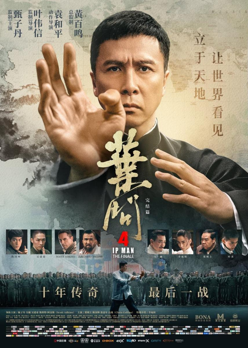 Ip Man 4 The Finale 2019 Hindi Dubbed 400MB HDRip 720p HEVC x265 ESubs Free Download