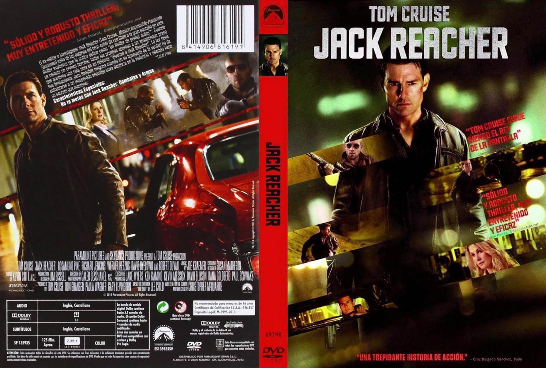 Jack Reacher 2012 Filmaffinity