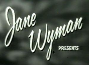 Jane Wyman Presents The Fireside Theatre (Serie de TV)