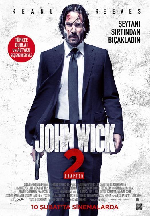Resultado de imagen para John Wick 2: Pacto de sangre (2017)