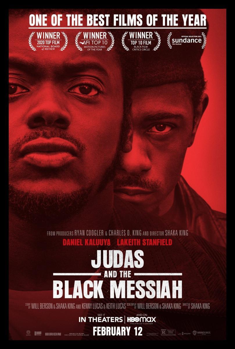 poster película Judas y el Mesías Negro