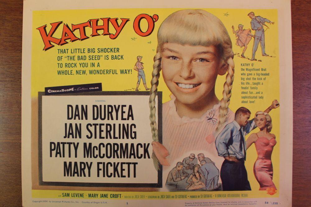 Kathy O' (1958) - Filmaffinity