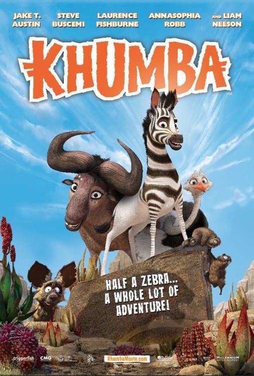 película, dibujos, animación, crítica, crítica cine, animation, Khumba, La cebra sin rayas