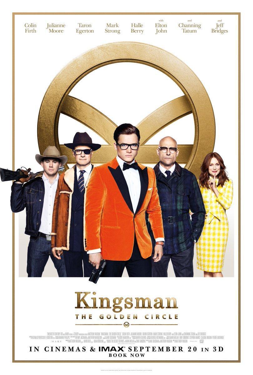 Resultado de imagen de kingsman el círculo de oro AFICHE