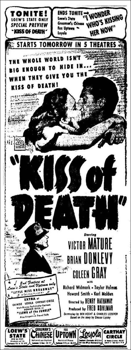 Kiss of Death  - Promo