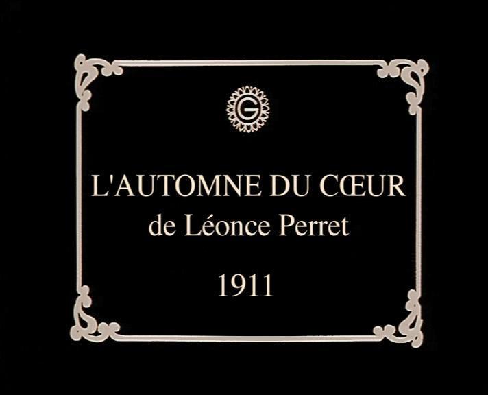 Image result for L;'automne du coeur 1911