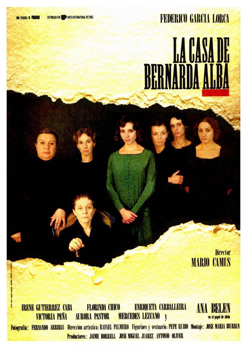 'La Casa de Bernarda Alba' By Federico Garcia Lorca