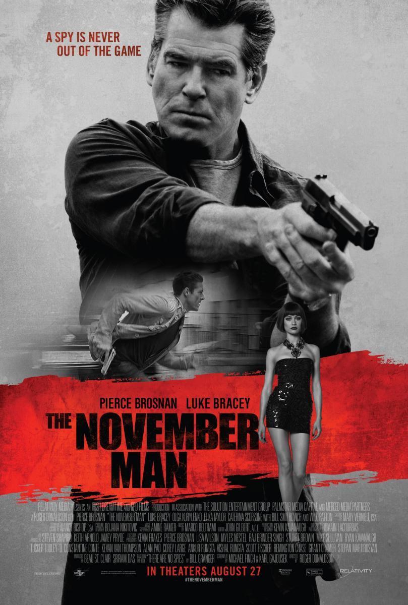 Conspiración de noviembre, the november Man, película,