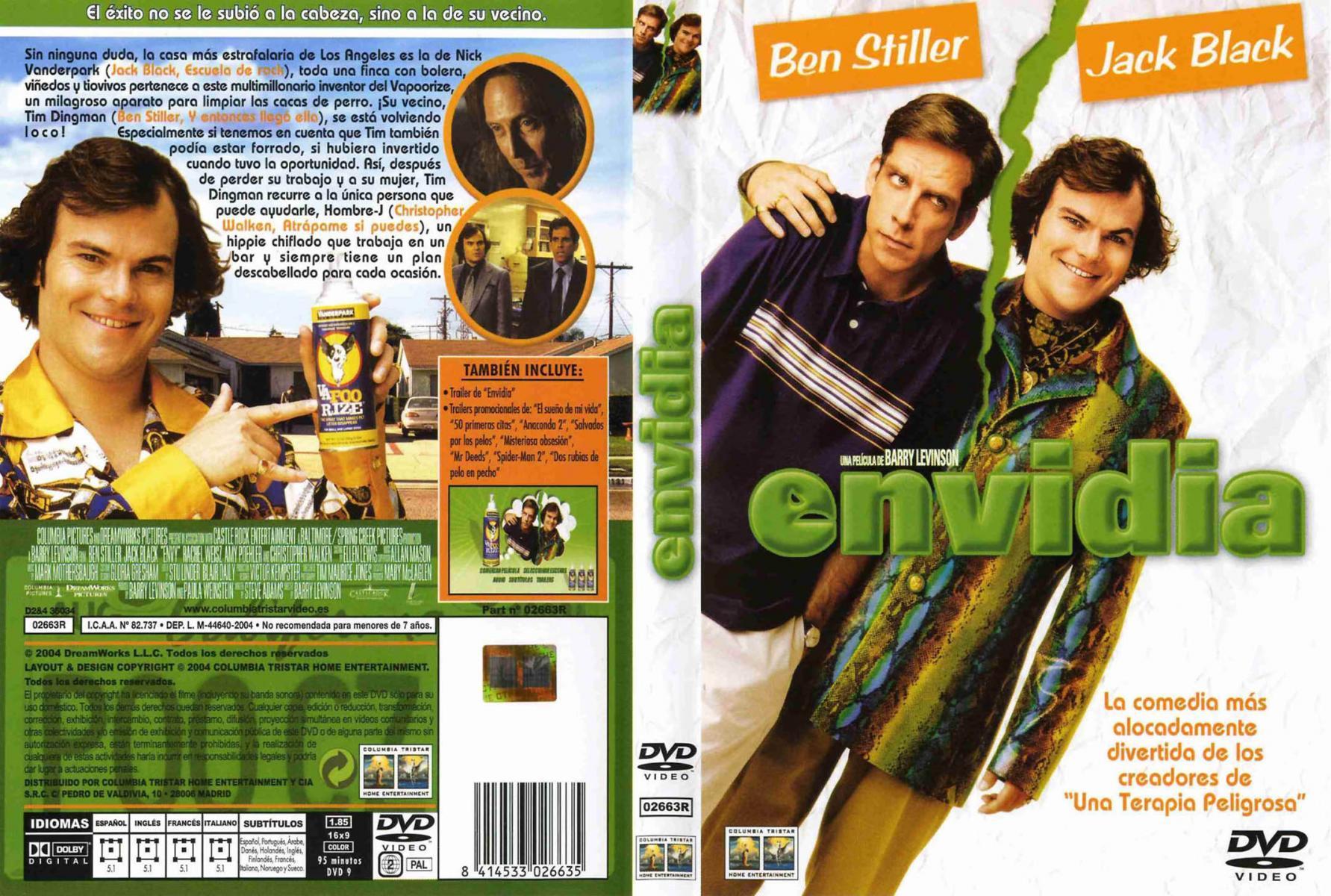 La Envidia Mata 2004 Filmaffinity