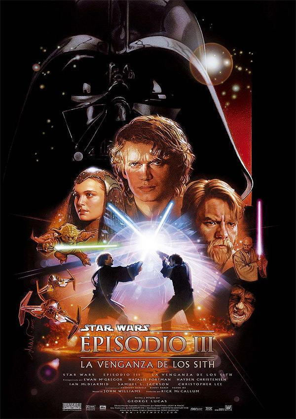 Star Wars Episodio III: La Venganza De Los Sith (BRRip Latino – Ingles – Castellano 1080p) 2005