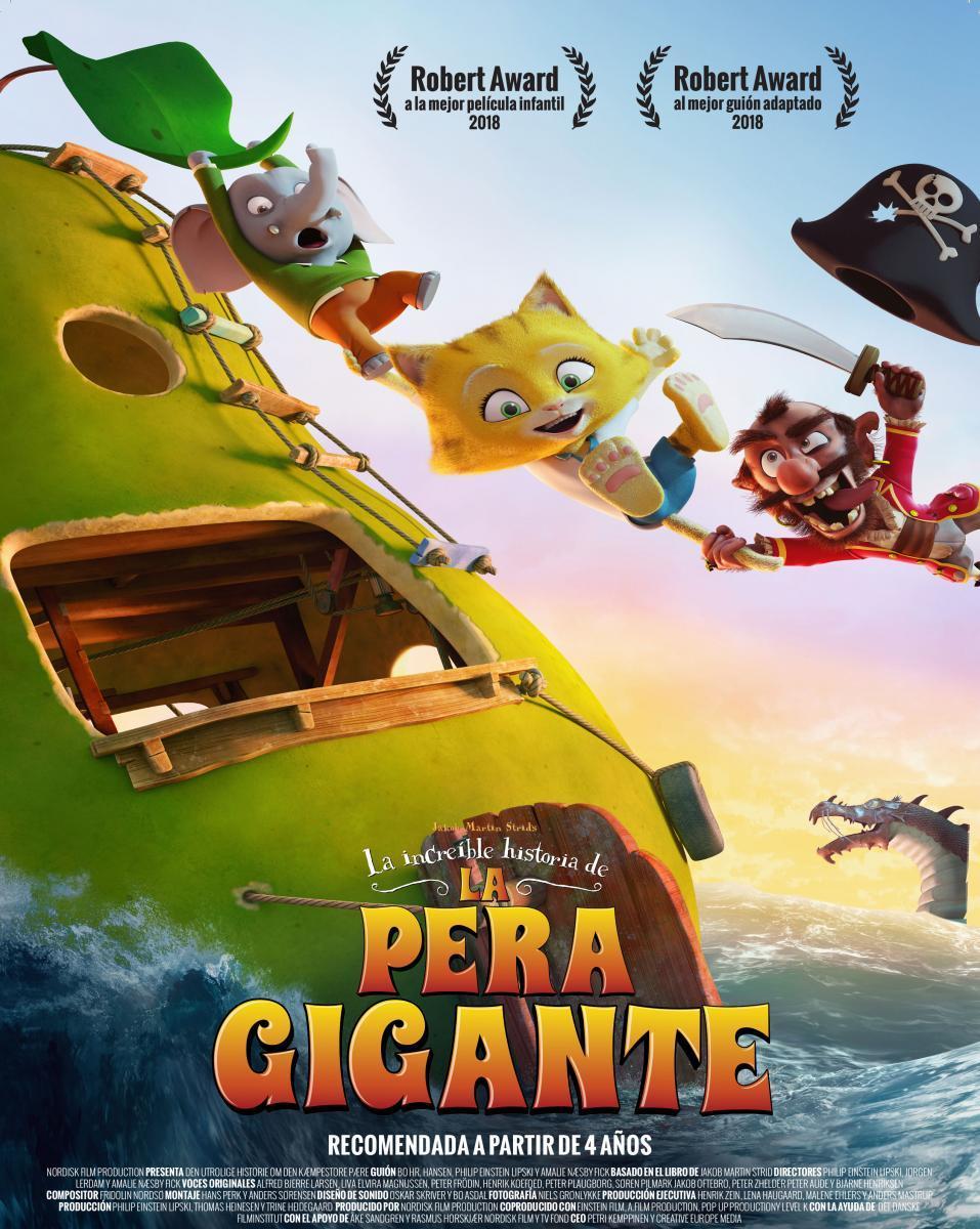 La Increíble Historia De La Pera Gigante (2017) BRRip 1080p Latino – Sueco
