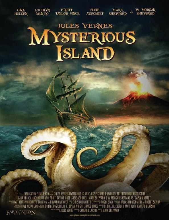 La isla misteriosa de Julio Verne (2010) - Filmaffinity