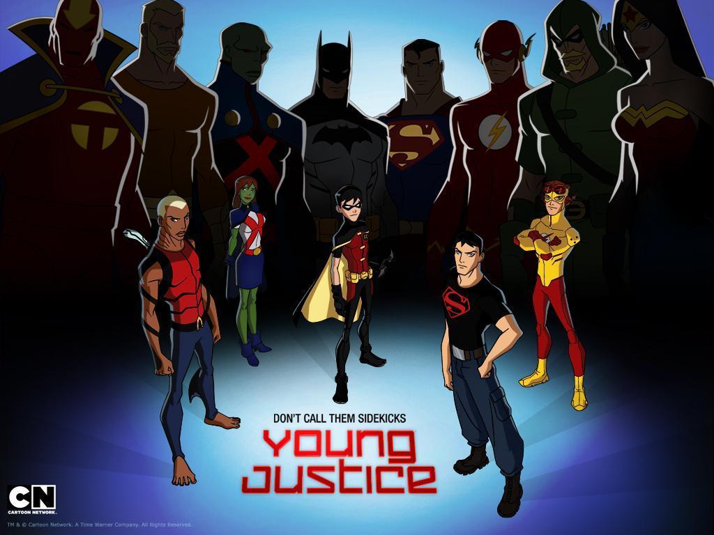 La joven Liga de la Justicia (Serie de TV) - Wallpapers