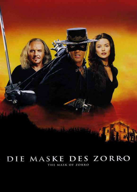 The portrayal of zorro in the 1998 movie the mask of zorro