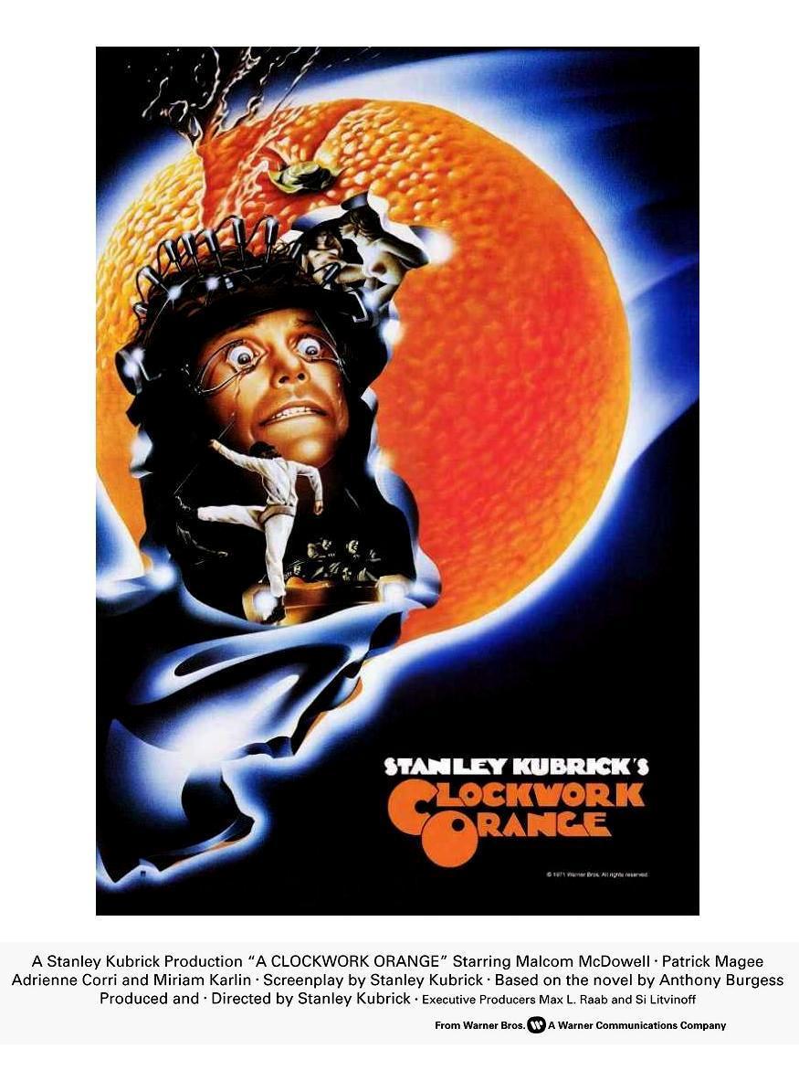 poster de la pelicula naranja mecanica