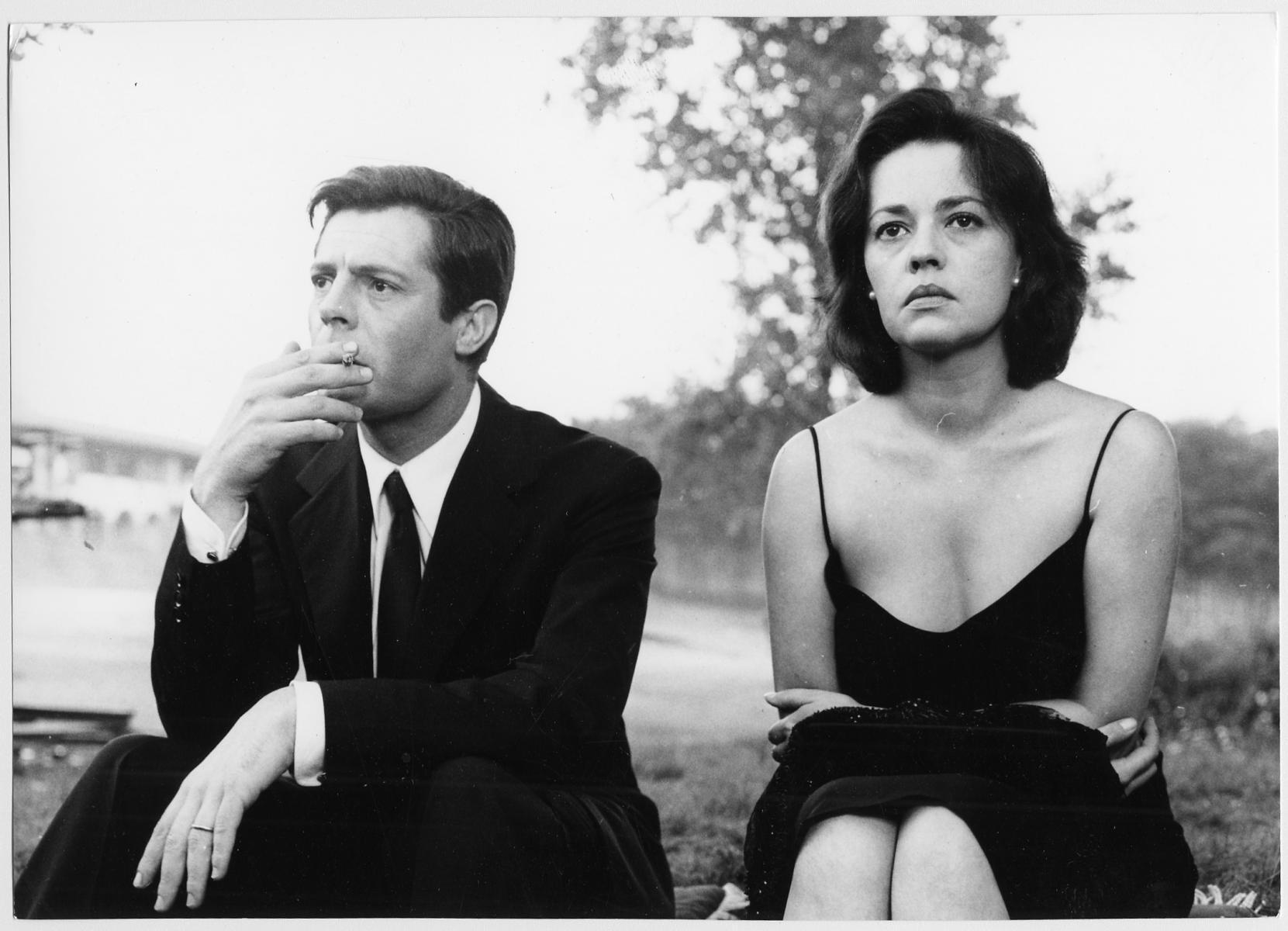 Marcello Mastroianni & Jeanne Moreau