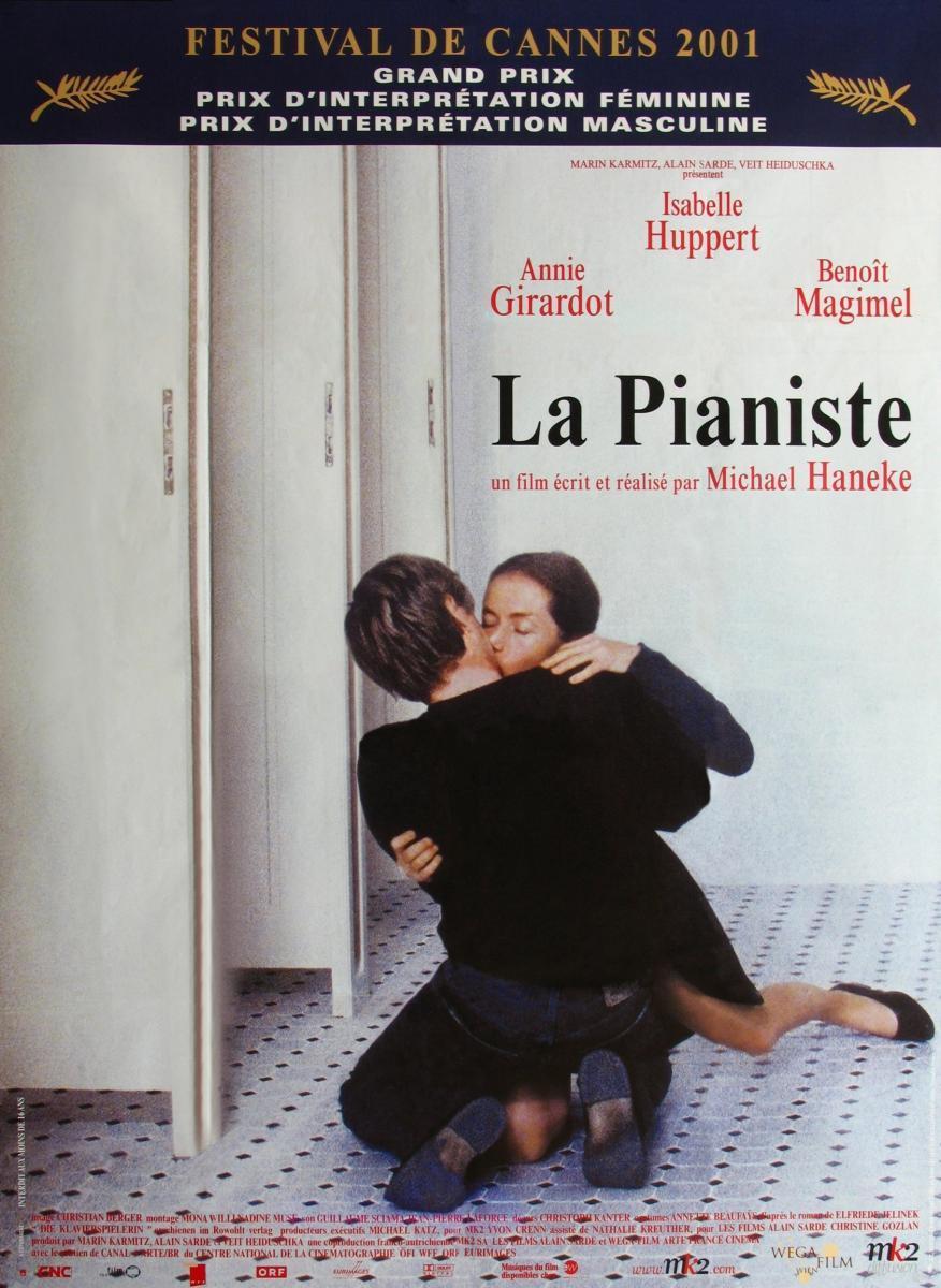 La pianista  - Posters