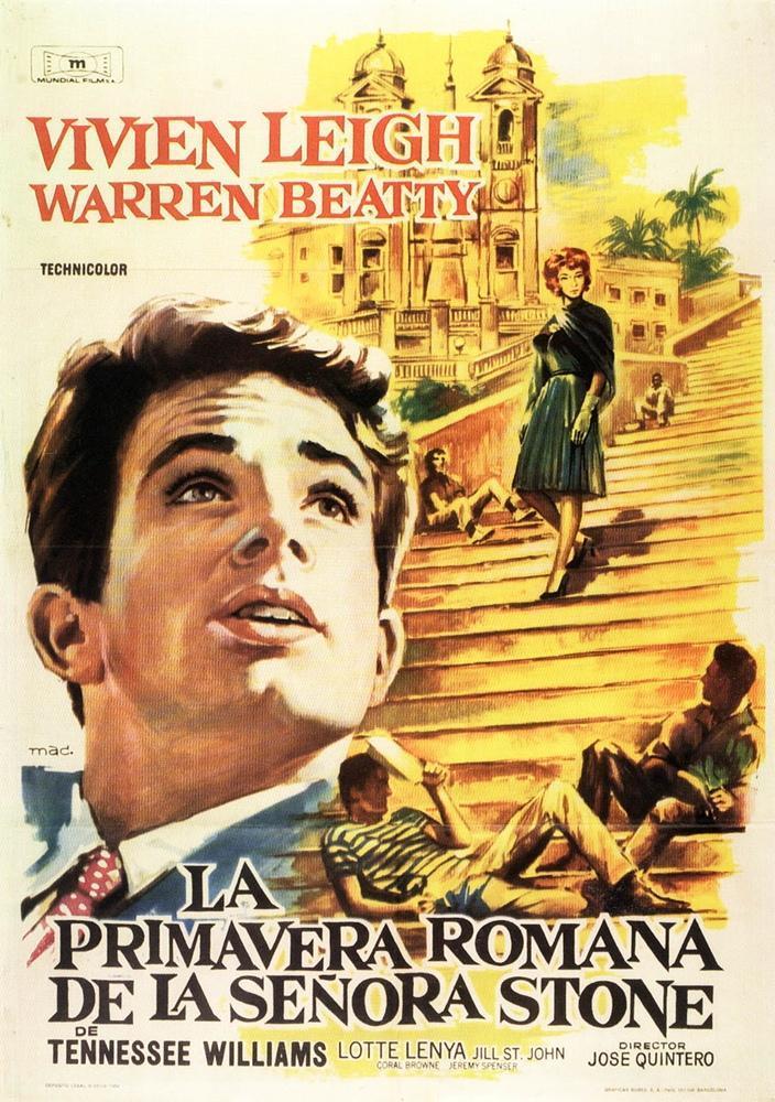 La primavera romana de la Sra. Stone (1961) - Filmaffinity
