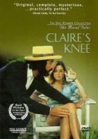La rodilla de Clara - Dvd