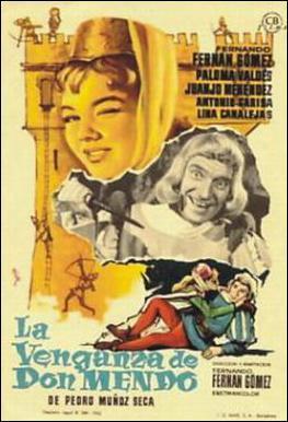La venganza de Don Mendo (1961) - Filmaffinity