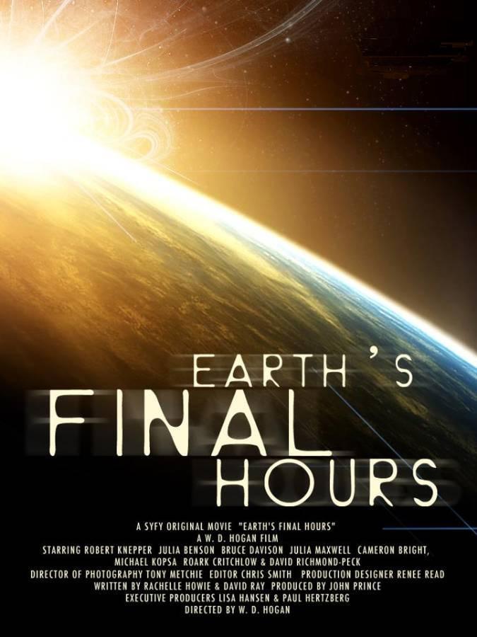 Las últimas Horas De La Tierra Tv 2011 Filmaffinity
