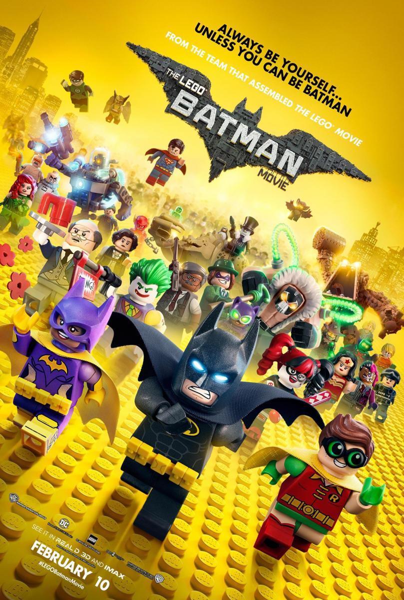 Lego Batman: La Película (3D SBS Latino – Ingles 1080p) 2017