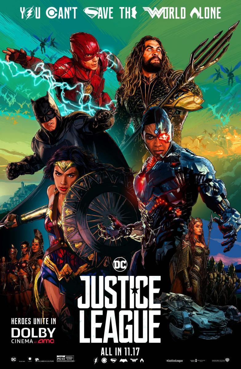 Liga De La Justicia (2017) 3D SBS 1080p Latino – Ingles