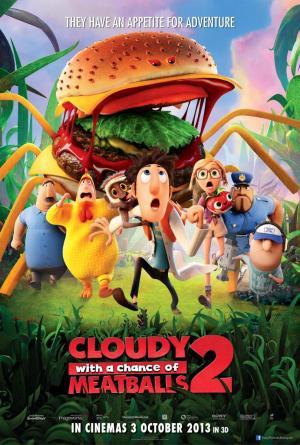 Lluvia de hamburguesas 2: La venganza de las sobras