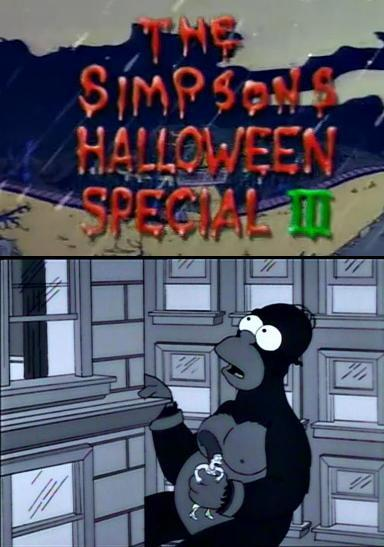les simpsons horror show