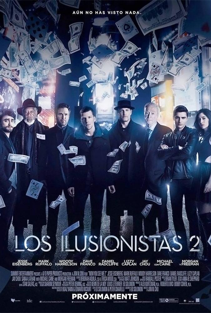 Los Ilusionistas 2 (BRRip Latino – Ingles 1080p) 2016