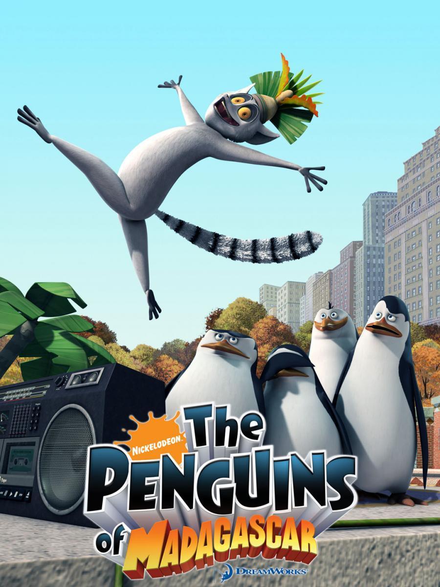 Los Pingüinos De Madagascar Serie De Tv 2008 Filmaffinity