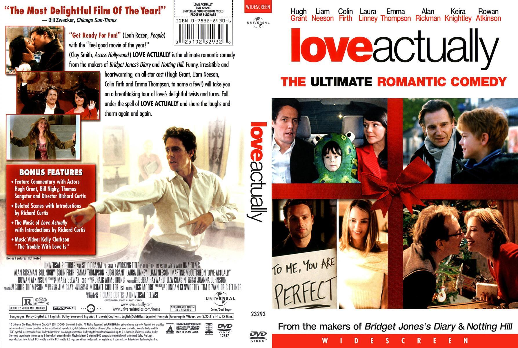 Love Actually 2003 Filmaffinity