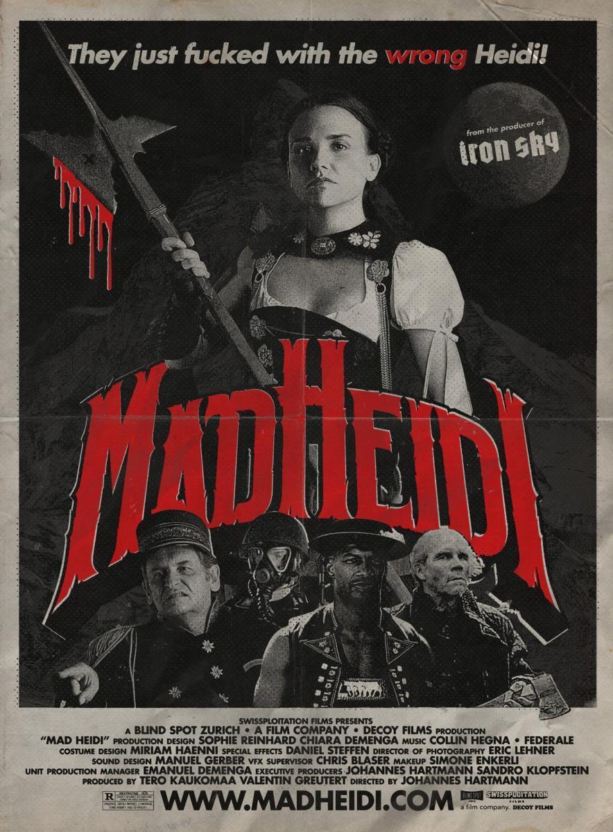 """Conoce """"Mad Heidi"""", la película suiza más sangrienta jamás creada (Swissploitation)"""