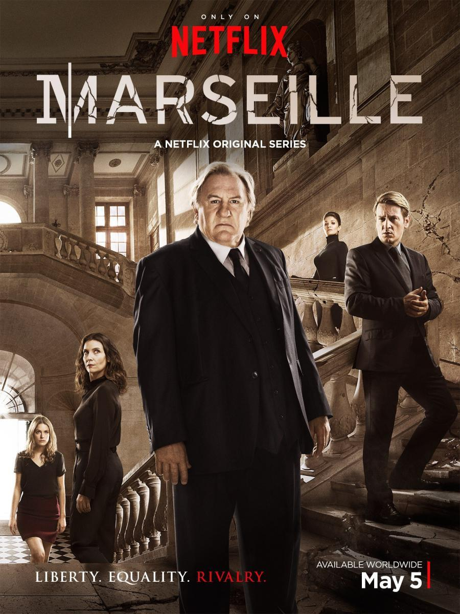 Image result for marseille tv show poster