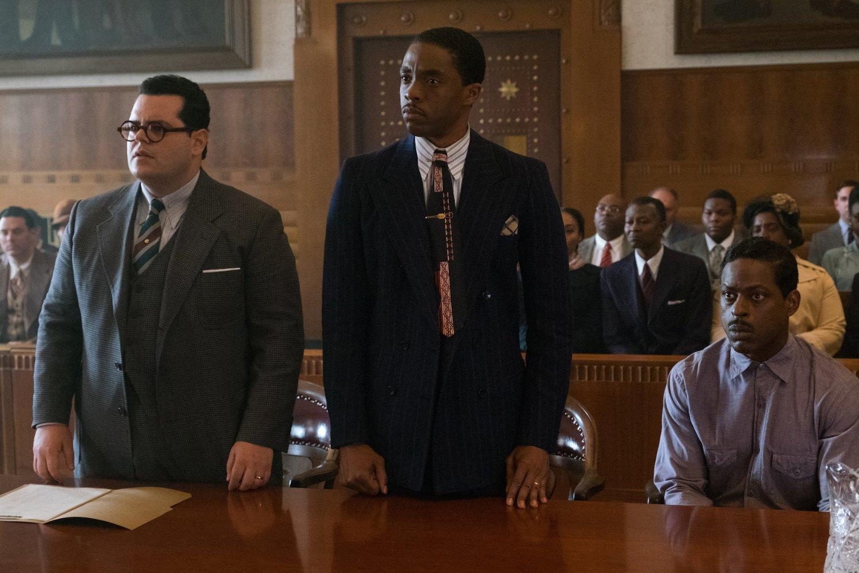 Marshall: El Origen de la Justicia Netflix Chadwick Boseman