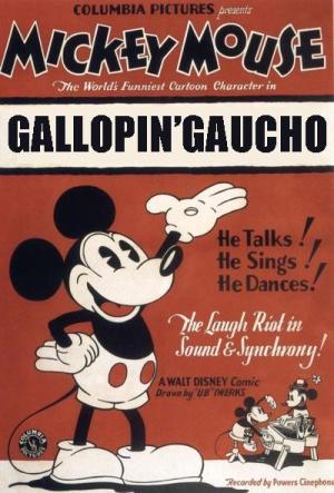 Mickey Mouse: El gaucho galopante (C)