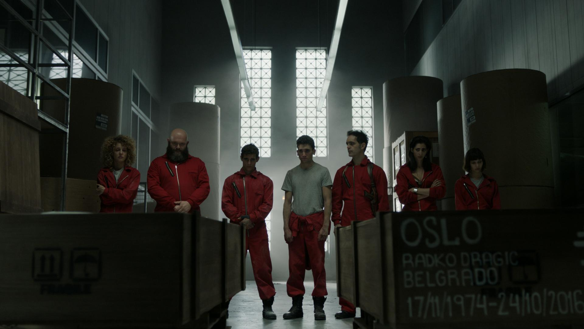 Money Heist (TV Series) (2017) - Filmaffinity