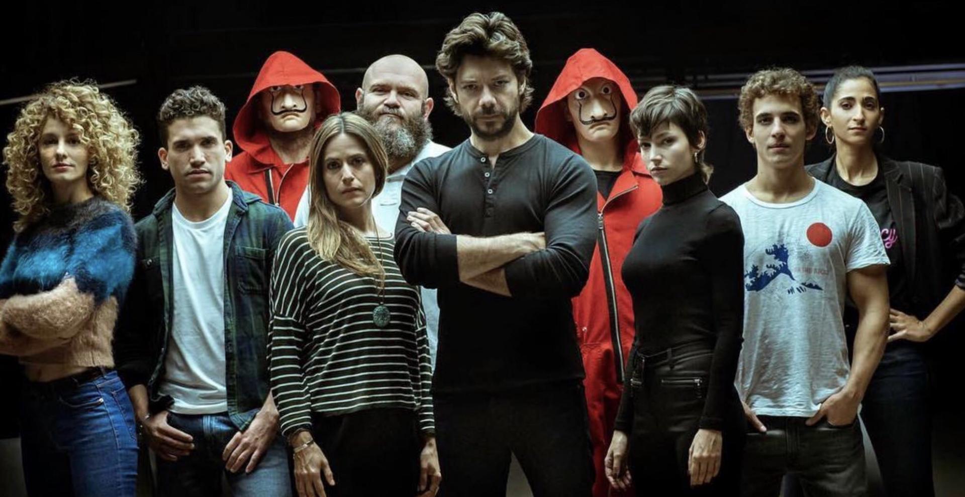 Money Heist (TV Series) (2017) - Filmaffinity