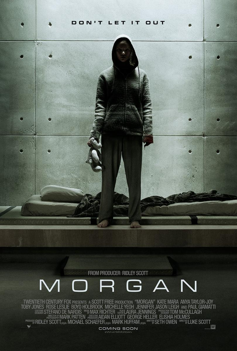 Morgan (2016) BRRip 1080p Latino – Ingles