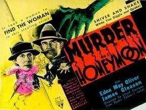 Murder on a Honeymoon - Posters