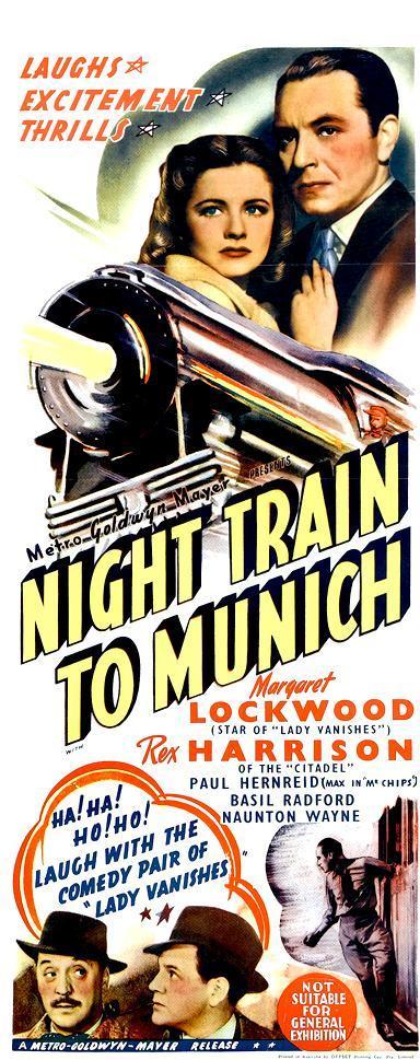Night Train to Munich - Posters