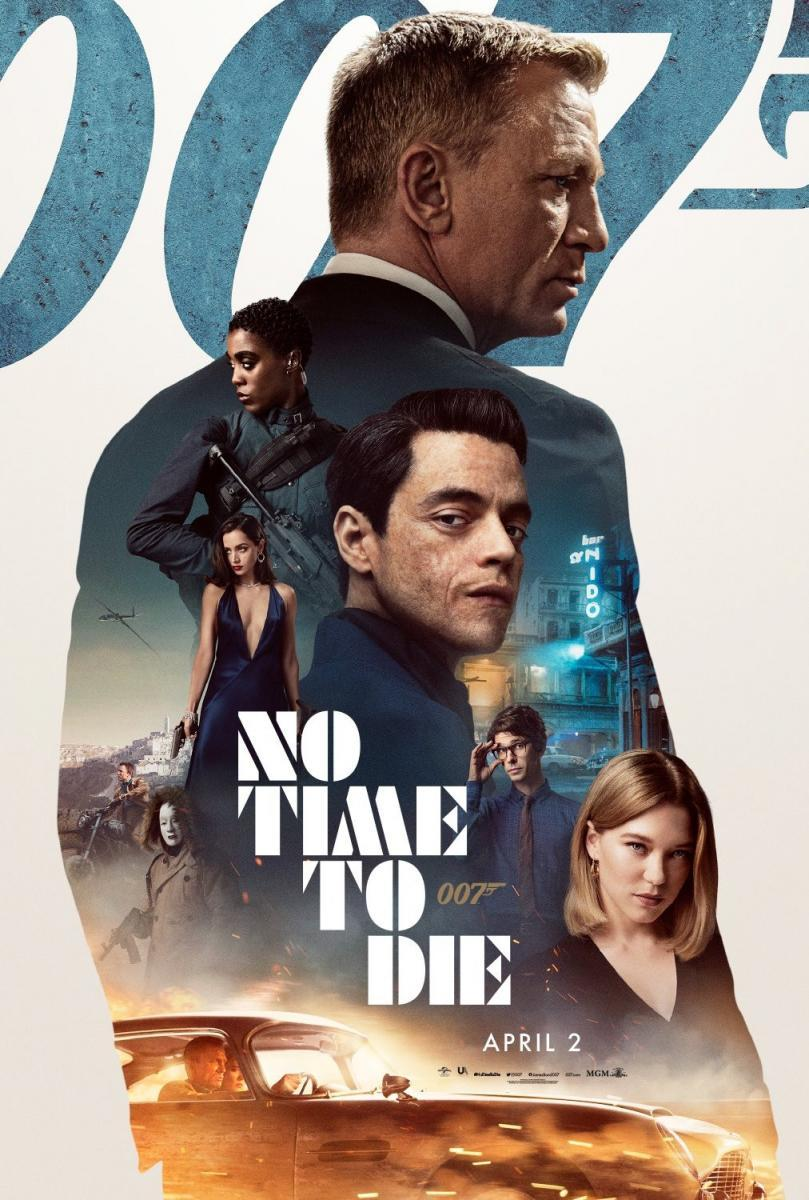 No Time To Die (2021) New Hollywood Hindi Dubbed Movie [Hindi Cleaned Audio] CAMRip 720p & 480p Download